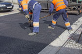 Repair of roads — Stock Photo