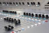 Mixážní pult — Stock fotografie