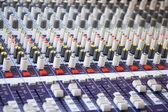 Large Music Mixing desk — Foto Stock