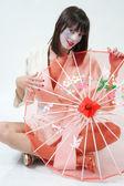 Geisha — Stock Photo