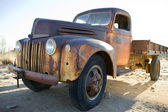 Old-timer truck — Stock Photo