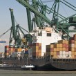 Stock Photo: Container ship