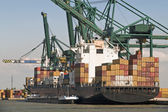 Containerschiff — Stockfoto