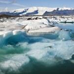 Icebergs Joekulsarlon, Iceland — Stock Photo