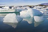 Icebergs, Joekulsarlon, Iceland — Stock Photo