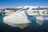Icebergs, Joekulsarlon, Iceland — Stock Photo