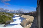White Pass and Yukon Railway — Stock Photo