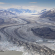 Glaciers, St Elias Range - Stock Photo