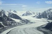 Gletscher, st elias range, kanada — Stockfoto