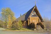 教会,海恩斯交界处,育空地区加拿大 — 图库照片