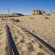 Ghost diamond mining town Kolmanskop — Stock Photo