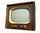 Old television set — Stock Photo