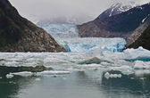 Tracy Arm fjord, Sawyer glacier — Stock Photo