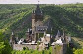 Slottet cochem, Tyskland, Moseldalen — Stockfoto