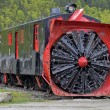 Stockfoto: Old snowplough train