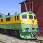 機関車・ ホワイト ・ パス ・ ユーコン鉄道 — ストック写真