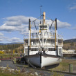 Stock Photo: Sternwheeler SS Klondike, Whitehorse, Canada