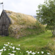 Turf church, Groef, Iceland — Stock Photo