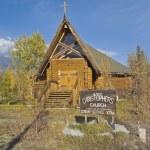 Church, Haines Junction, Yukon, Canada — Stock Photo #15446081