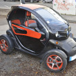 Electric car, electrically powered car, e-car — 图库照片 #15603021
