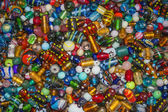 Glass beads — Stock Photo