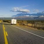 Alaska Highway, Alaska, USA — Stock Photo