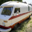 Old-timer camper — Stock Photo