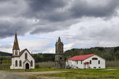 St paul's church, kitwanga, british columbia, kanada — Stockfoto