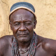 Himba man, portrait, Namibia - Photo