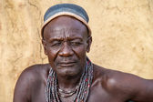 Himba man, portrait, Namibia — Stock Photo