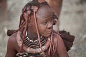 Himba girl — Stock fotografie