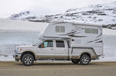 Truck camper — Stock Photo