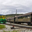 White Pass and Yukon Railway, Skagway, Alaska — Stock Photo