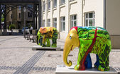 Elephant, Luxembourg City — Stock Photo