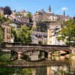 Luxembourg City, Grund, bridge over Alzette river — Stock Photo #29955533