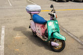 Motor scooter — Stock Photo