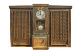 Punch clock, time recorder — Stock Photo