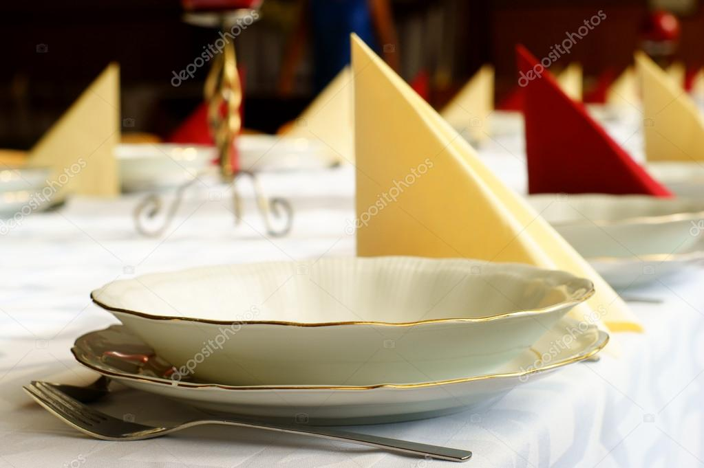 Wedding banquet table  Stock Photo #13198382