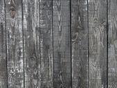 Grunge old wooden texture, black — Foto Stock