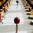 Wedding banquet table — Stockfoto