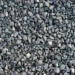 Coal, carbon, black background - Stock Photo