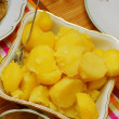 Stockfoto: Boiled potatoes