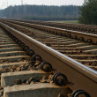 Stock Photo: Rail Road Tracks