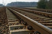 Rail Road Tracks — Foto de Stock