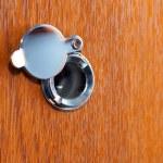 Peephole — Stock Photo