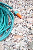 Garden water hose — Stock Photo