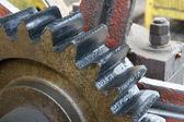 Industrial wheel — Stock Photo