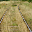 Stock Photo: Old railroad