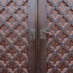 An old metal door handle — Stock Photo #16279251