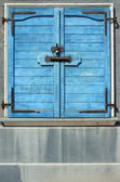 Bolted shut door - Locked — Stock Photo